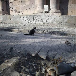 Последствия боев в Нагорном Карабахе