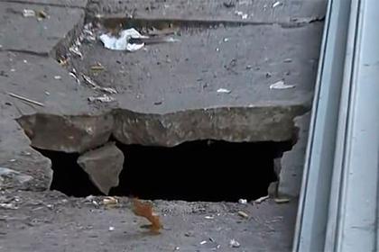 Сына утянуло в кишащую огромными крысами щель в тротуаре на глазах у матери