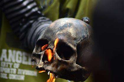 Череп пропавшего в 2012 году человека превратился в украшение на каминной полке