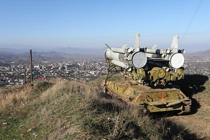 Карабах заявил об уничтожении турецкого беспилотника