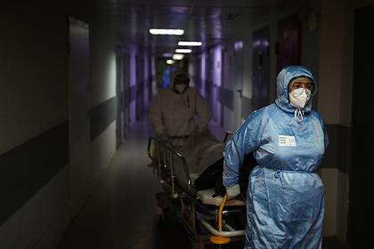 В России вновь побит рекорд суточной смертности пациентов с коронавирусом