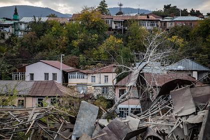 Армения потеряла офицеров и отступила с боями в Нагорном Карабахе