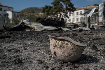 ВВС Азербайджана разбомбили Мартакерт в Нагорном Карабахе