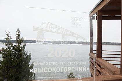 Началось строительство самого северного моста через Енисей