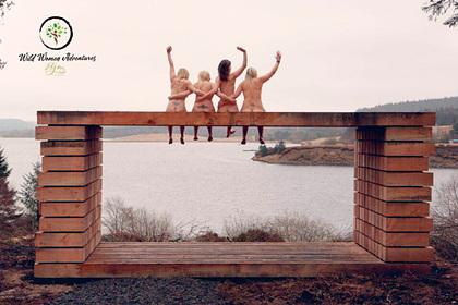 Любительницы активного отдыха снялись голыми для благотворительного календаря