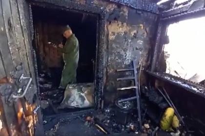 Пьяный россиянин поджег дом с женой и тремя детьми внутри