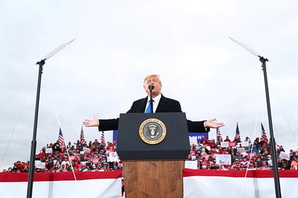 Трамп отказался считать себя политиком