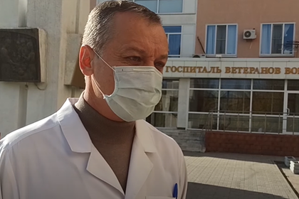 Главврач «ковидного» госпиталя объяснил попытку выписать умирающего ветерана