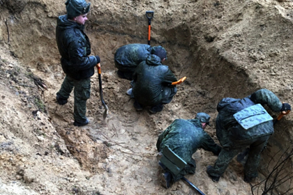 В России обнаружили захоронение 188 жертв фашистов