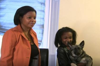 Десятилетняя девочка спасла жизнь матери