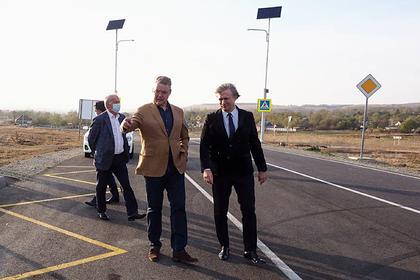 На Ставрополье оценили качество ремонта дороги