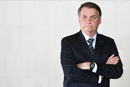 Президент Бразилии заявил оконце пандемии коронавируса