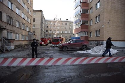 Начавшийся после взрыва в челябинской больнице пожар ликвидировали