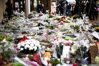 Мемориал в честь учителя Самуэля Пати во Франции