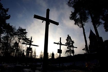 Кладбища в Белоруссии назвали бомбой замедленного действия