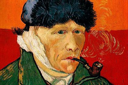 Винсент Ван Гог. «Автопортрет с отрезанным ухом и трубкой»