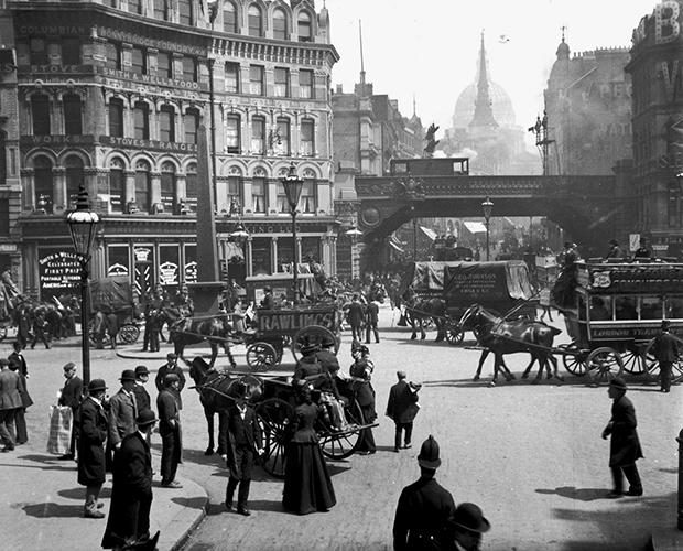 Лондон конца XIX века