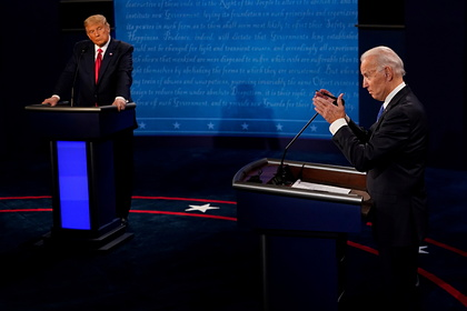 Трамп обогнал Байдена включевых штатах накануне выборов