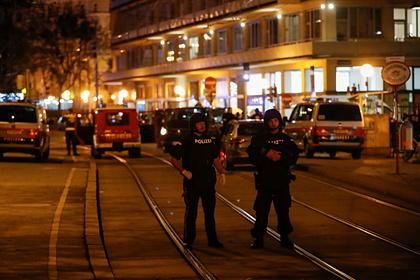 В Вене сочли муляжом пояс смертника у ликвидированного террориста