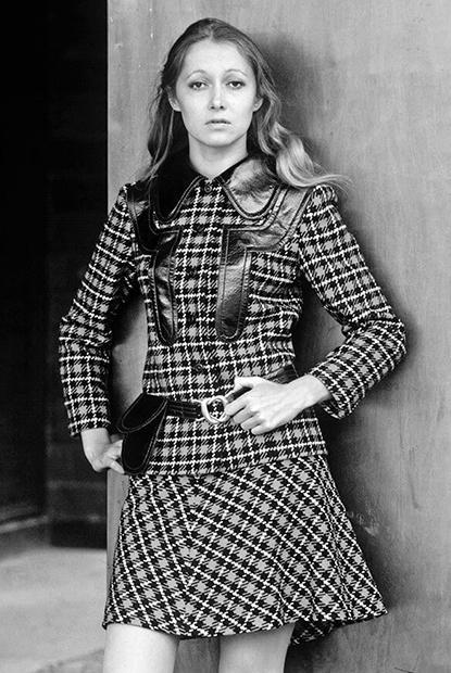 Татьяна Михалкова на съемке для «Журнала Мод» (1970-е годы)
