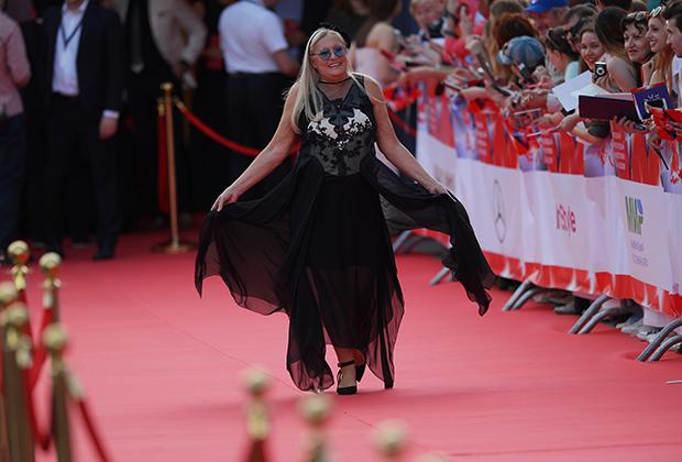Татьяна Михалкова на церемонии открытия 38-го Московского международного кинофестиваля, 2016 год