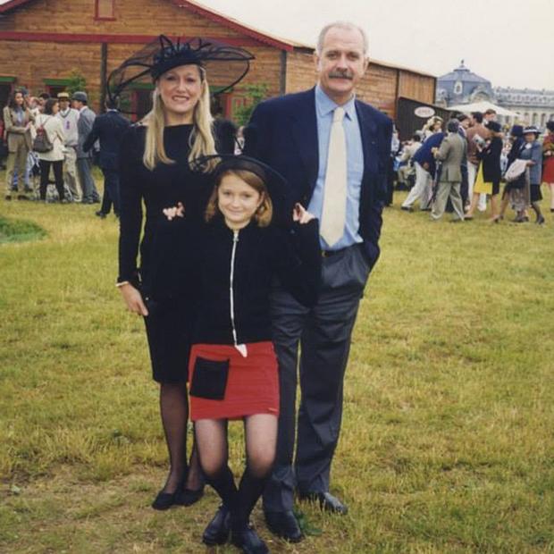 Татьяна Михалкова с мужем и дочерью Надей