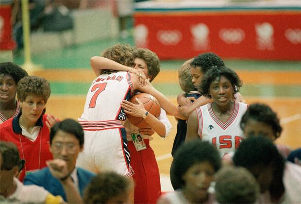 Финал США — Югославия, 1988 год, Олимпийские игры в Сеуле. Оливера Чиркович была в составе команды Югославии