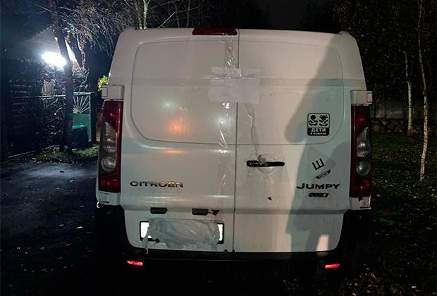 Автомобиль, на котором перемещались налетчики, напавшие на дом Владимира Маругова
