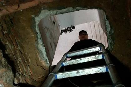 Грабители из канализации вскрыли 20 банковских сейфов и уползли обратно в трубу