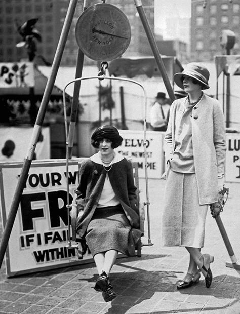 Уличные весы, 1920 год