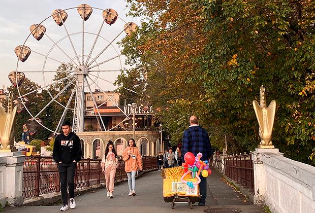 Парк имени Коста Хетагурова во Владикавказе