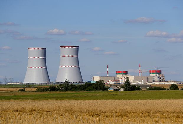 Островецкая АЭС в Белоруссии