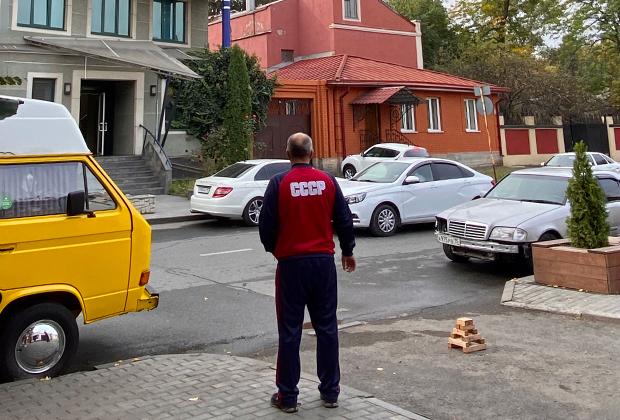 Улица Горького во Владикавказе