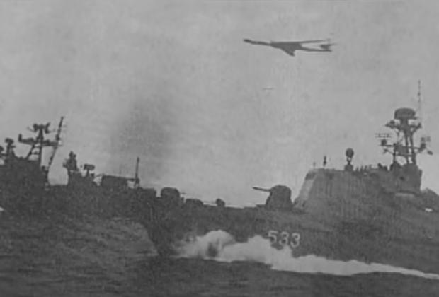 Боевые корабли и авиация преследуют БПК «Сторожевой»