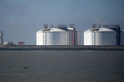 Резервуары для хранения СПГ в Китае