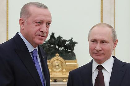 Путин иЭрдоган готовы квзаимодействию для решения конфликта вКарабахе