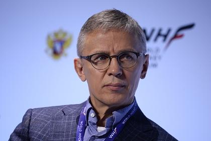 Игорь Ларионов, главный тренер сборной России