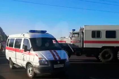Появилось видео с аэродрома в Воронеже после нападения вооруженного солдата