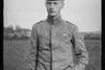 Портрет немецкого офицера с тростью. Западный фронт, 1916 год.