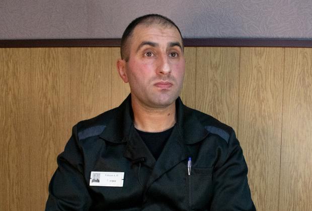 Осужденный Ахмед Габазов