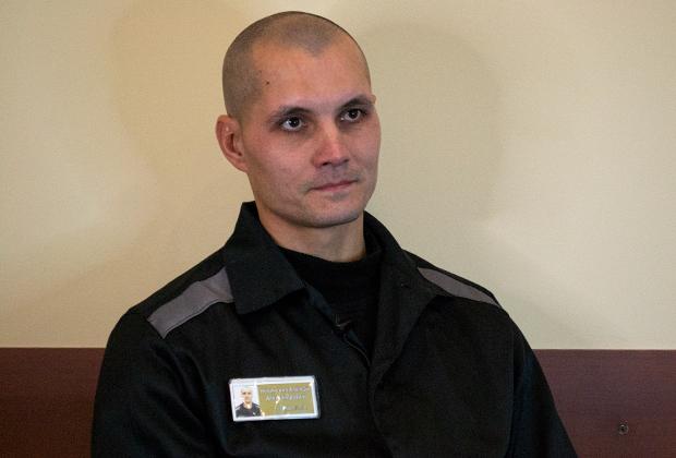 Осужденный Алексей Новиченко