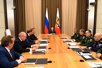 Путин поставил задачу по модернизации ядерных сил