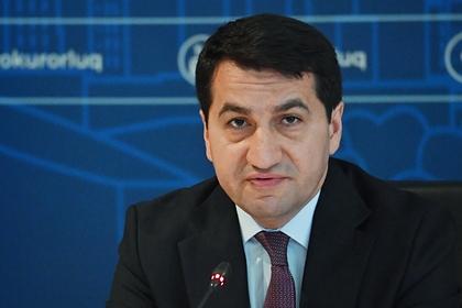 Азербайджан раскритиковал слова своего посла в России о крушении Ми-24