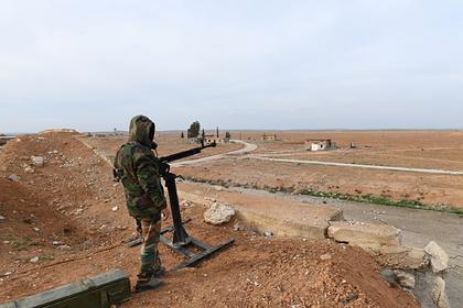 Российские войска ударили ракетами по боевикам в Идлибе