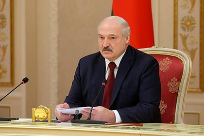 Лукашенко оценил позицию Путина по ситуации в Белоруссии