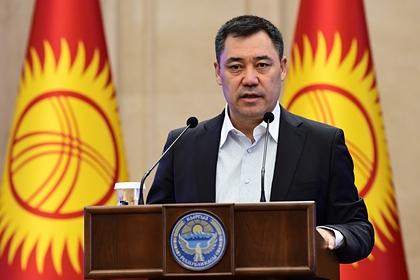 Исполняющий обязанности президента Киргизии сложил полномочия