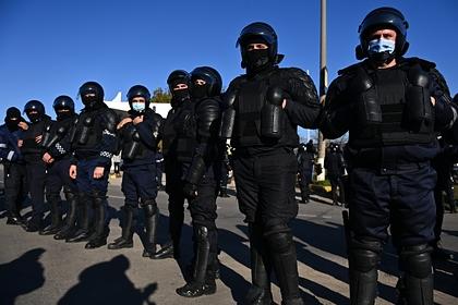 На выборах в Молдавии произошли столкновения полиции и оппозиции