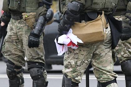 МВД Белоруссии подтвердило применение спецсредств против протестующих в Минске