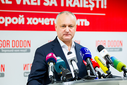 Додон анонсировал серьезные изменения внутри Молдавии