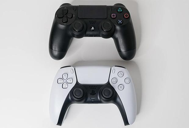 Сравнение DualShock 4 с DualSense